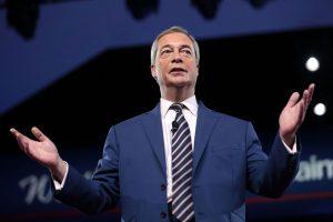 Member of the European Parliament Nigel Farage